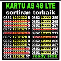 NOMOR CANTIK AS SERI 0852 778899XX 4G LTE