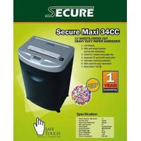 Mesin Penghancur Kertas Secure Maxi 34CCM