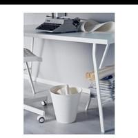 Tempat sampah plastik / Waste Bin (big size/10L) - Putih (IKEA Fniss)