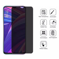 OPPO A11K TEMPERED GLASS SPY PRIVACY SCREEN GUARD PROTECTOR FILM CLEAR