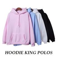Sweater Hoodie Wanita King Polos