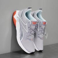 Sepatu Sneakers Wanita Original Reebok Running Liquifect Grey SPT