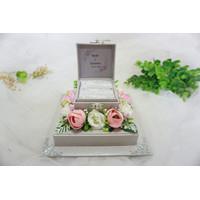 Ring Box / Kotak Cincin / Hantaran / Seserahan - Silver
