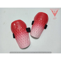 DEKER PELINDUNG SHIN GUARDS - SPECS AEROFRAME ORIGINAL 903598 RED