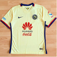 Jersey Club America Home 2015-2016 Mexico Meksiko Player Issue GO