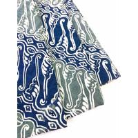 DOBY ABU NAVY PASTEL motif 1 dobi dobby bahan kain batik atbm parang