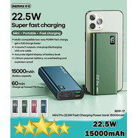 REMAX MINI PRO RPP-17 POWERBANK FAST CHARGING 15000mAh 22.5W