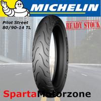 Michelin Pilot Street 80/90-14 Tubeless / Ban Motor Michelin 80/90-14