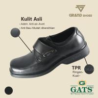 sepatu Pria Pantofel Kulit Asli Formal Kerja Kantor Murah Gats Origina