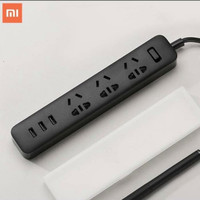 Stop Kontak Xiaomi Mi Smart Power Strip Colokan Adaptor 3 USB Port