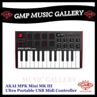 AKAI MPK Mini MK III / MPK Mini MK3 Ultra Portable USB Midi Controller - Merah