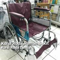 kursi roda standar rumah sakit merk avico - Khusus Expedisi