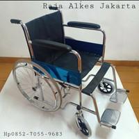 kursi roda standar rumah sakit merk avico - Khusus Gojek