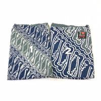 DOBY ABU NAVY PASTEL dobi dobby bahan kain batik atbm pekalongan