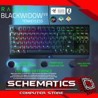 RAZER BLACKWIDOW V3 CHROMA - TKL - Compact Mechanical Gaming Keyboard