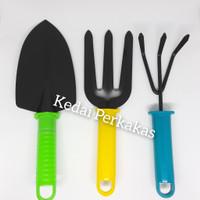 Alat kebun taman set 3pcs Peralatan berkebun 3 pcs Garden tool mini