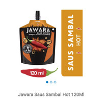 Jawara saus sambal hot 120g