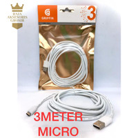 Kabel Data MICRO USB GRIFFIN 3M SAMSUNG/ASUS Fast Charging ORI 100%