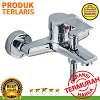 Keran Air Shower hot cool / panas dingin Stainless Steel MK386 Rozin