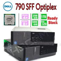 Dell Core i3-3.1/4Gb/250gb SFF CPU Mini PC Desktop Branded Murah