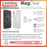 Case iPhone 12 Pro Max 12 Pro Mini Switcheasy MAGClear Magnetic Casing