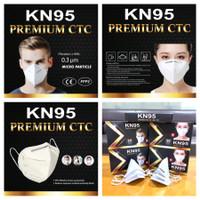 Premium CTC Masker KN95 Safety Mask Virus Face Shield KN 95 N 95 N95