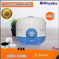 Magic Com Miyako MCM-612 1,2 L Rice Cooker Penanak Nasi Miyako MCM 612