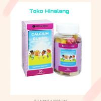Wellness Calcium Gummy 70 Gummy / 70Gummy Vitamin Anak