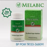 Melabic Obat Diabetes Basah / Militus Melabic Asli Obat Herbal BPOM