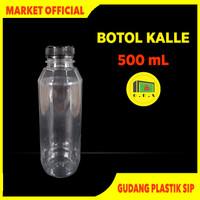 Botol Kale 500 mL Tebal Kualitas Premium / Botol Kopi / Botol Kalle