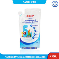 PIGEON Baby Bottle Accessories Cleanser Refill 450 ml
