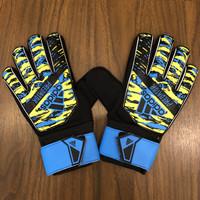 Sarung Tangan Kiper Adidas (Premium Import) Anak /Dewasa - BLUE YELLOW