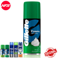 Gillette Shaving Cream-Foam-Gel/Foamy Shave-Krim Busa Cukur 175-195 gr