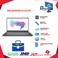 Laptop MSI MODERN 15 A11SB| i7 1165G7 16GB 512ssd MX450 2GB 14.0FHD