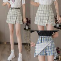 8206 Venneta Skirt with belt/Rok Pendek/Korean Mini Skirt