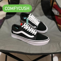 VANS COMFYCUSH OLD SKOOL BLACK WHITE ORIGINAL - Black White, 37
