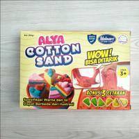 Cotton Sand/Pasir Ajaib/Magic Sand 200 gram Cetakan Pasir Kue/MAGIC