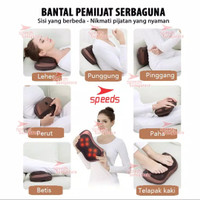 Bantal Pijat 8 Bola portable Car and Home Masaage Pillow speeds 202-01