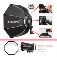 Triopo Softbox Octa 55cm Umbrella Reflector Flash Octagional Speedlite