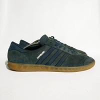 Sepatu adidas HAMBURG -Navy biru used