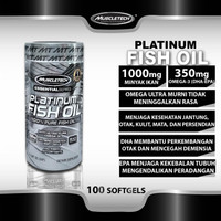Muscletech Platinum Fish Oil 100 Softgels