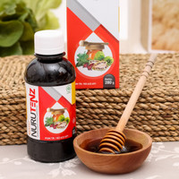 Madu Nurutenz Original Obat Darah Tinggi Herbal Hipertensi HALAL BPOM