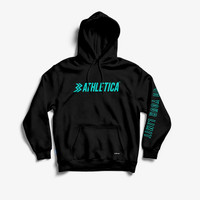 Athletica Official Shop - Pullover Charge Black   Jacket Pria   Hoodie
