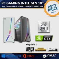 PC Gaming   i3 10100F   16GB   GTX 1650 Super   Intel Gen10th 8 Thread