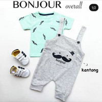 baju overall bayi laki - baju kodok anak laki - baju kodok anak -bou