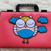 Tas Laptop OWL Fanta Kulit 10 - 17 Inch Softcase Notebook MacBook