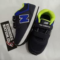 sepatu running anak hitam biru/sneakers anak/sepatu anak/fashion anak