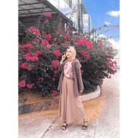 Celana Kulot Muslim Palazzo Palazo Wanita Muslimah Panjang Murah Cewek