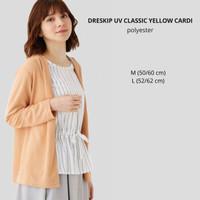 Cardigan Branded Wanita - DRESKIP UV CLASSIC YELLOW CARDI