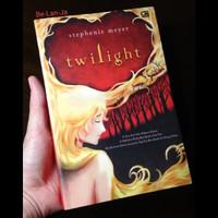 BLJ TWILIGHT SAGA ~ Buku Novel ~ Set 4 buku